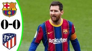 Barcelona vs Atletico Madrid 0 - 0  (LaLiga Goals & Highlights 2021)