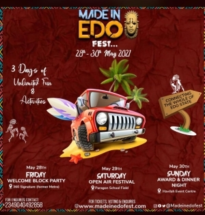 All You Need To Know About Made In Edo 2021 Festival (Details)