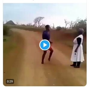 ABOMINATION!: See What This Lady is Doing to Her Mother Because of What Pastor Told Her