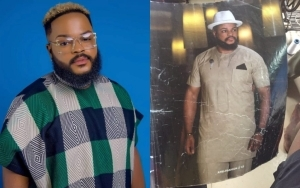 #BBNaija 2021: Whitemoney Trends After Revealing He Was Once The Cover Of A Popular Magazine