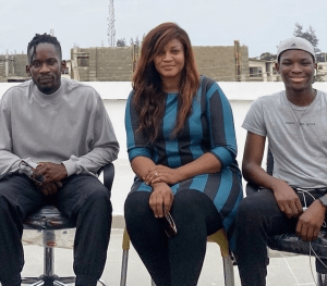 Curiosity As Actress, Omotola Jalade-Ekeinde Spotted With Mr Eazi