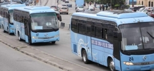 JUST IN!! Lagos Buses Services Resume Operations After 18 Hours