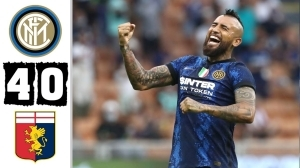 Inter vs Genoa 4 - 0 (Serie A 2021 Goals & Highlights)