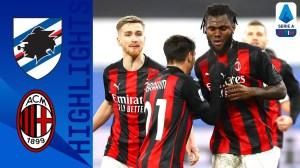 Sampdoria vs Milan 1 - 2 (Serie A Goals & Highlights)