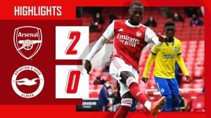 Arsenal vs Brighton 2 − 0 (Premier League Goals & Highlights 2021)