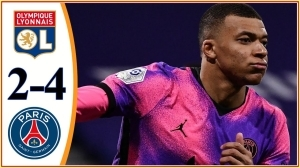 Lyon vs PSG 1 - 4 (Ligue 1 Goals & Highlights 2021)