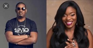 'I'm done with Don Jazzy, he's not sending me, he's in love with Rihanna'- Bisola Aiyeola reveals!