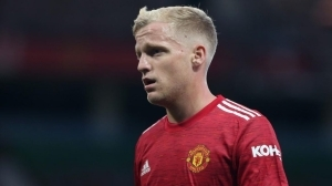 You're trapping him at Old Trafford – Agbonlahor begs Man Utd to sell Van de Beek