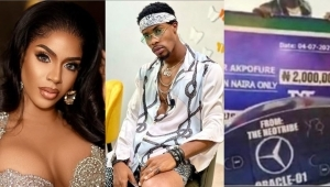 Reality Star, Venita Likes A Tweet Debunking Claims That Neo Got A Car Gift From Fans On His Birthday