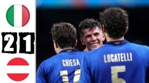 Italy vs Austria 2 - 1 (EURO 2020 Goals & Highlights)