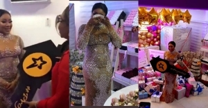 Moment Erica Broke Down In Tears After Receiving A House Gift From Fans On Her Birthday (Video)