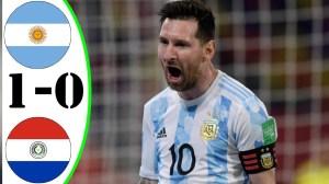 Argentina vs Paraguay 1 - 0  (Copa America 2020 Goals & Highlights)