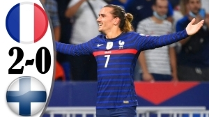 France vs Finland 2 - 0 (2022 World Cup Qualifiers Goals & Highlights)
