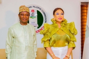 Actress Tonto Dikeh Becomes Ambassador Of Peace For NCPC