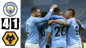 Manchester City vs Wolves 4 - 1 (EPL Goals & Highlights 2021)