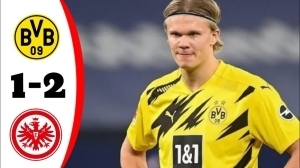 Dortmund vs Frankfurt 1 - 2 (Bundesliga Goals & Highlights 2021)