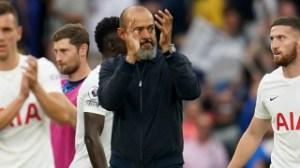Tottenham boss Nuno confident fans believe in team
