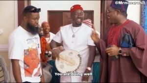 Mr Macaroni – Obi Cubana Visits Daddy Wa  (Comedy Video)