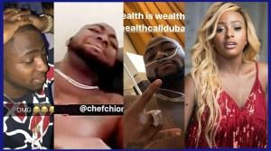 Davido sick & hospitalized after clubbing in Dubai | Wow! Dj cuppy in love?  (Video News)