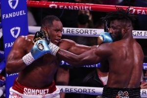 Efe Ajagba suffers first heavyweight defeat to Sanchez