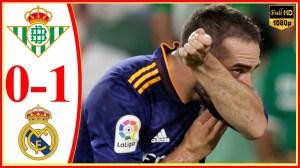 Real Betis vs Real Madrid 0 − 1 (LaLiga  2021 Goals & Highlights)