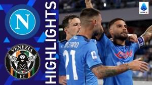 Napoli vs Venezia 2 - 0 (Serie A  2021 Goals & Highlights)