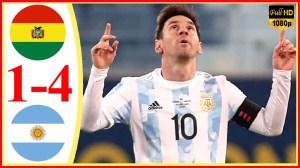 Bolivia vs Argentina 1 − 4 (Copa America  2020 Goals & Highlights)