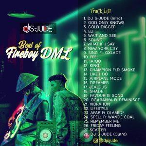 DJ S-Jude – Best Of Fireboy DML Mix (Latest FireBoy Songs)
