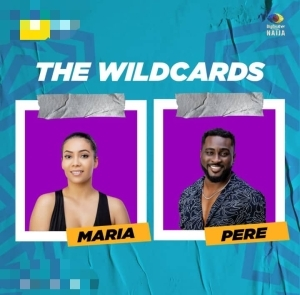 """#BBNaija: """"Wild card love"""" – Reactions as Maria is spotted styling Pere's hair (Video)"""