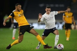 Manchester City Survive Wolves Scare To Make Winning Start