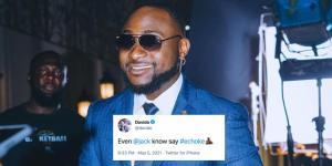 """Twitter Endorses Davido's """"E Choke"""" Slang With An Emoji"""