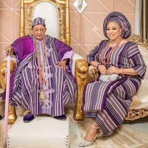 Alaafin of Oyo's Wife, Queen Abbey Celebrates Her Birthday With Mouth-Watering Photos