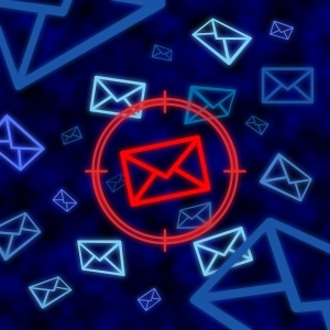 60 percent of emails in May and June were fraudulent