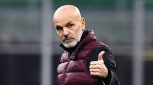AC Milan coach Pioli