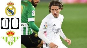 Real Madrid vs Real Betis 0 - 0 (LA Liga Goals & Highlights 2021)