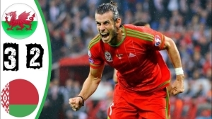 Belarus vs Wales 2 - 3 (2022 World Cup Qualifiers Goals & Highlights)
