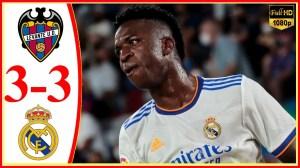 Levante vs Real Madrid 3 − 3  (LaLiga 2021 Goals & Highlights)