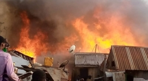 Osun CP's House Catches Fire, Destroys Properties Worth Millions