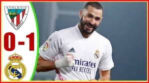 Athletic Bilbao vs Real Madrid 0 − 1 (LaLiga Goals & Highlights 2021)