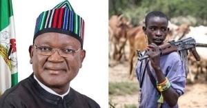 Buhari's Presidency Has Hidden Agenda – Benue State Governor, Ortom Reacts To Proposed Grazing Reserves