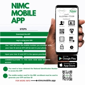 NIMC Launches New Mobile App For SIM-NIN Linkage