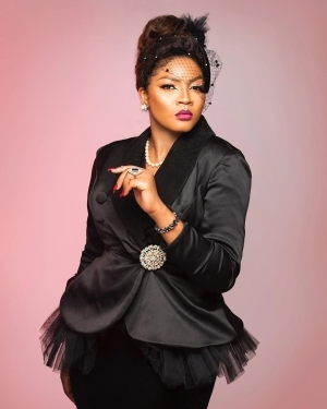 """It Was Like Something Died In Me"" -Omotola Jalade Talks About Her Father"
