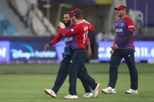 England dismiss West Indies for 55 to make flying start to T20 World Cup