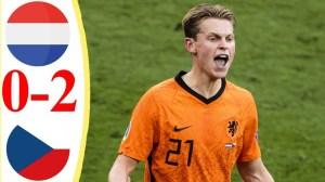 Netherlands vs Czech Republic 0 - 2 (EURO 2020 Goals & Highlights)