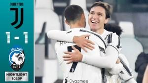 Juventus vs Atalanta 1 - 1 (Serie A Goals & Highlights)
