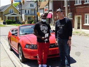 Teen Who Cleaned Up After A Protest Rewarded With A Car And Scholarship