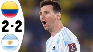 Colombia vs Argentina 2 − 2 (World Cup Qualifier Goals & Highlights 2021)