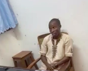 OAU Lecturer Caught On Tape Assaulting A Student (Video)