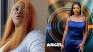 Nkechi Blessing Goes Braless To In Solidarity With BBNaija's Angel After Being Body-shamed