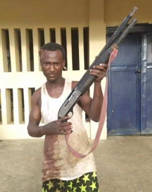 PRODIGAL SON!! Police Arrest Notorious Armed Robber Disowned By His Father